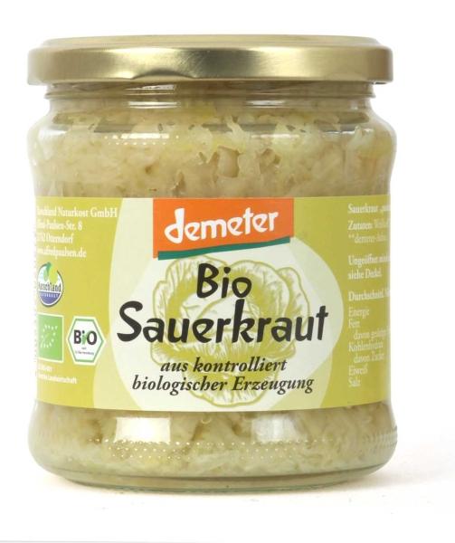 Bio Demeter-Sauerkraut 370 ml