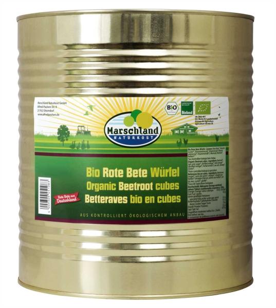Bioland Bio-Rote Bete Würfel 10.200 ml