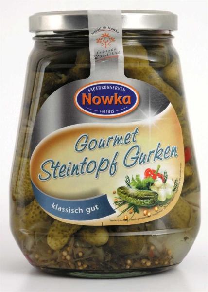 Gourmet Steintopf-Gurken 580 ml