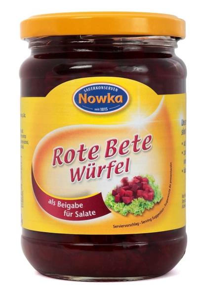 Rote Bete Würfel 370 ml