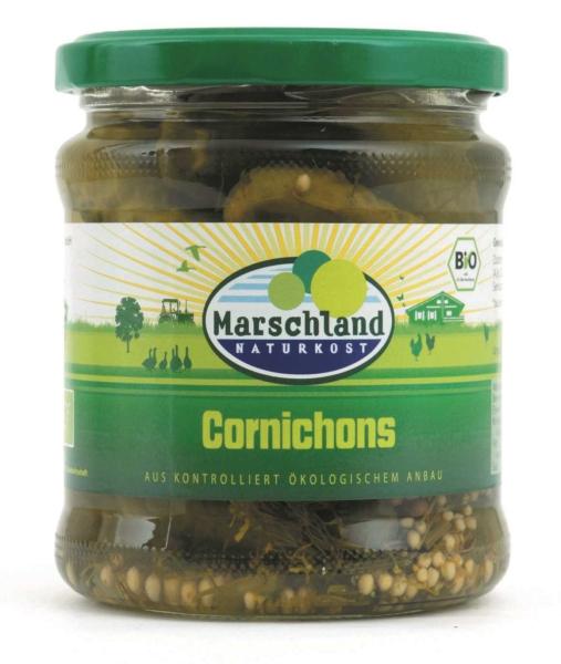 Bioland Bio-Cornichons 370 ml