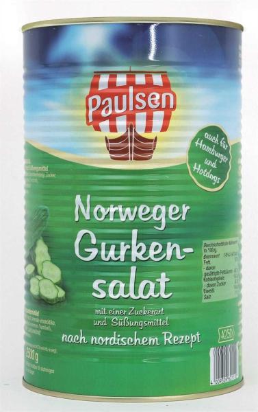Norweger Gurkensalat 4.250 ml