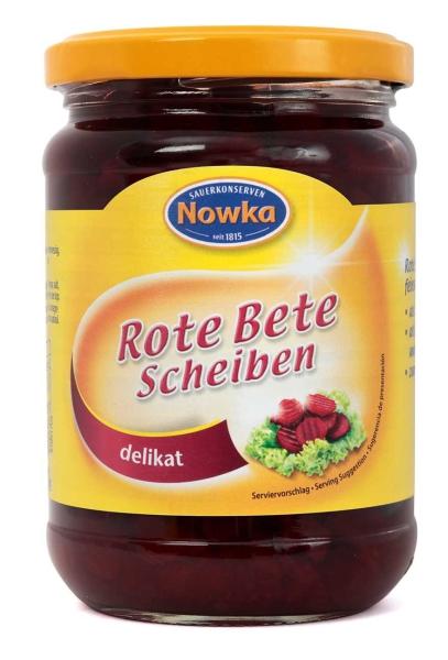 Rote Bete Scheiben 370 ml