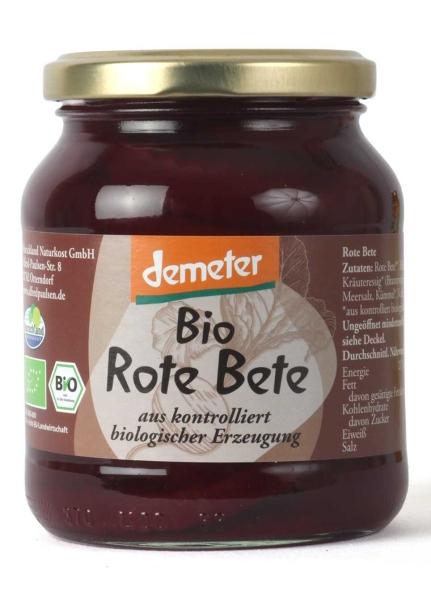 Bio Demeter-Rote Bete 370 ml