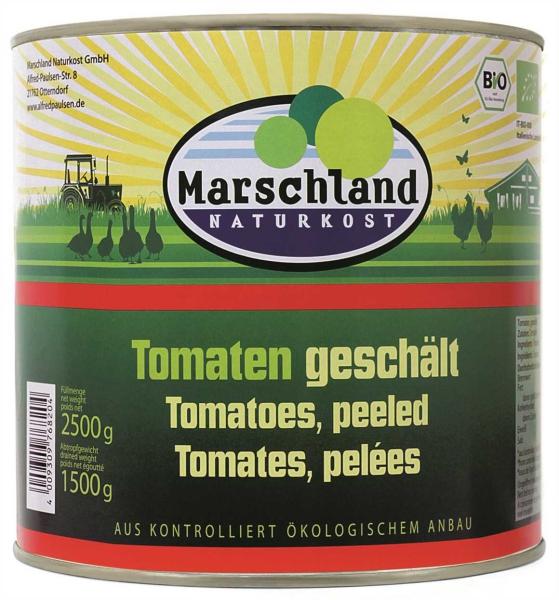 Bio-Tomaten geschält 2.650 ml