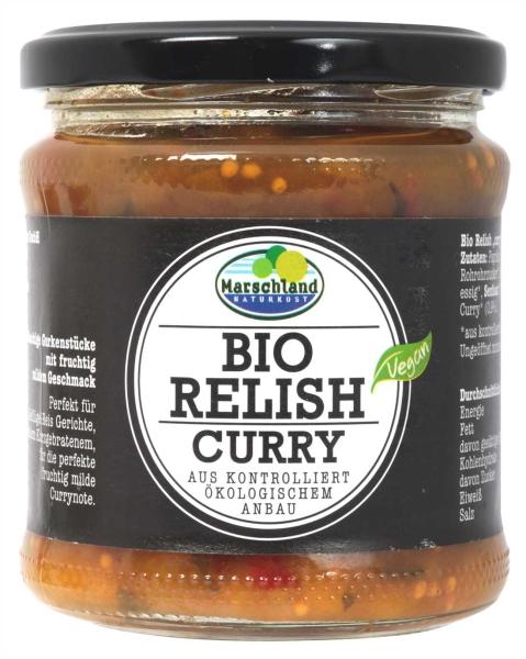 Bio Gurken-Relish Curry 370 ml