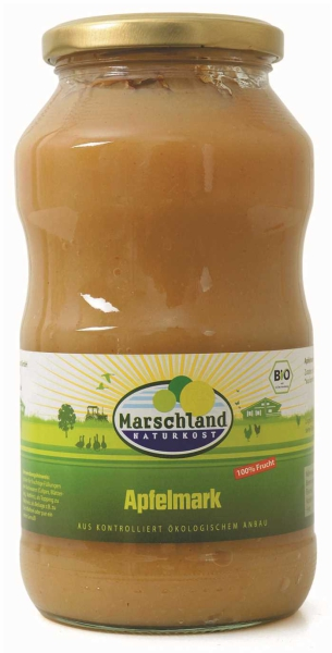 Bio-Apfelmark, ungesüßt 720 ml