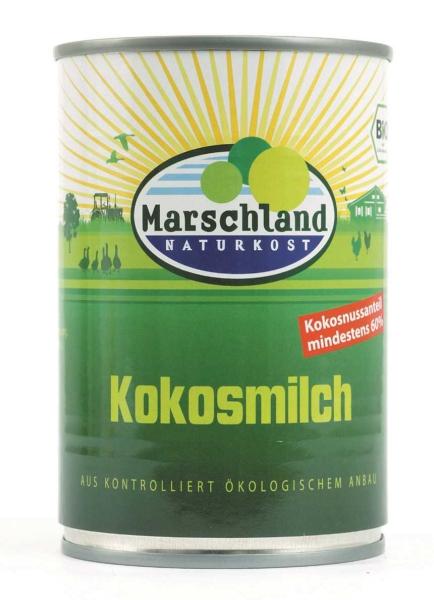 Bio-Kokosmilch 400 ml