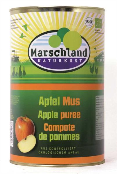 Bio-Apfelmus 4.250 ml