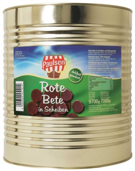 Rote Bete Scheiben 10.200 ml