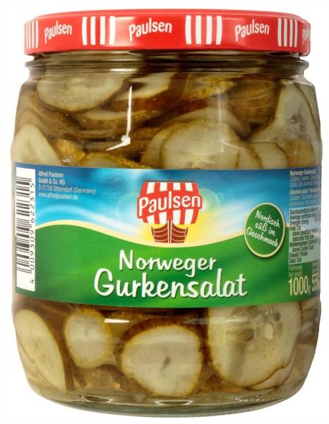 Norweger Gurkensalat 1.062 ml