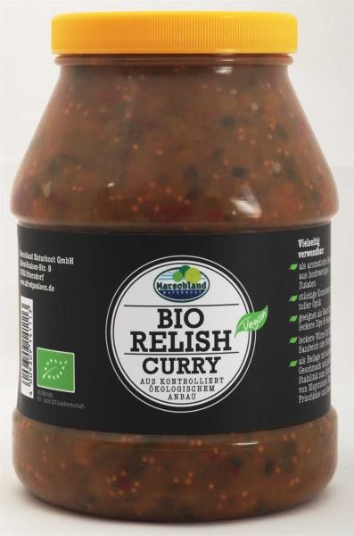 Bio Gurken-Relish Curry 2.400 ml