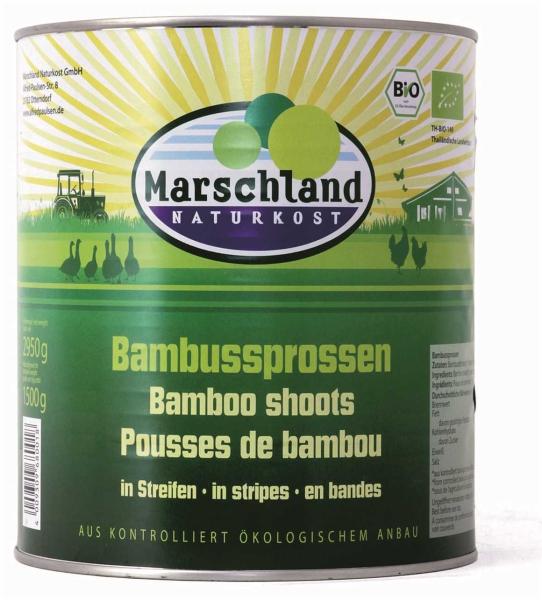 Bio-Bambussprossen in Streifen 3.100 ml