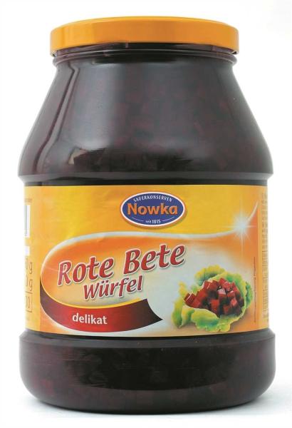 Rote Bete, Würfel 2.400 ml