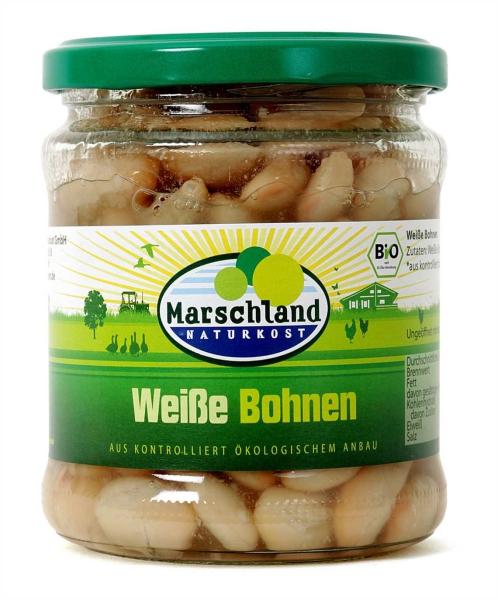 Bio-Weiße Bohnen 370 ml