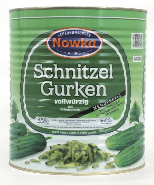 Gurken-Schnitzel o.K. m.S. 10.200 ml