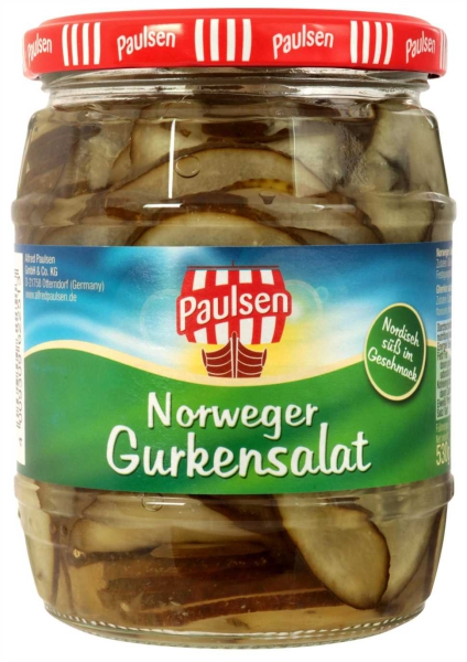 Norweger Gurkensalat 580 ml