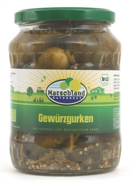 Bioland Bio-Gewürzgurken 720 ml