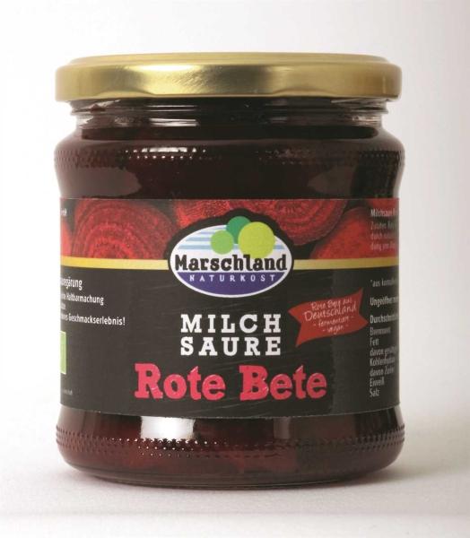Bioland Bio-Rote Bete milchsauer 370 ml