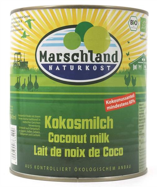 Bio-Kokosmilch 3.000 ml