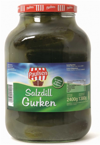 Salzgurken 2.650 ml