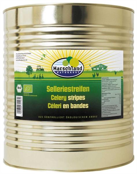 Bio-Selleriestreifen 10.200 ml