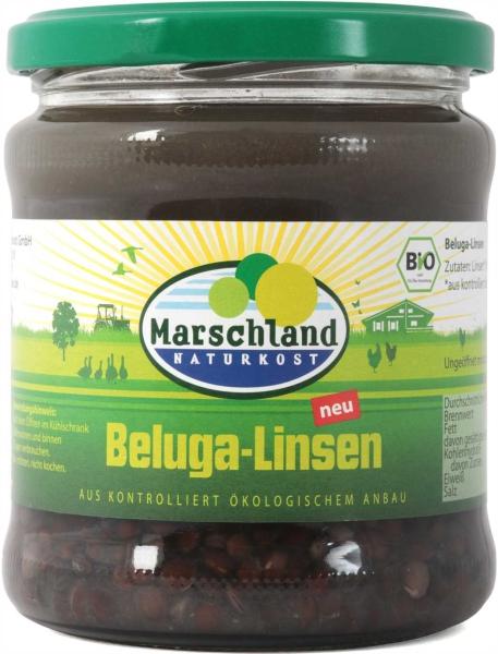 Bio-Beluga Linsen 370 ml