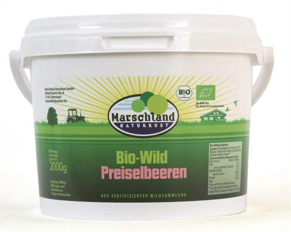 Bio-Wildpreiselbeeren 2 kg