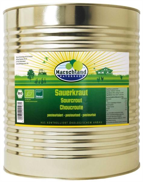 Bioland Bio-Sauerkraut 10.200 ml