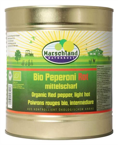 Bio-Peperoni ganz, Demre rot 3.100 ml