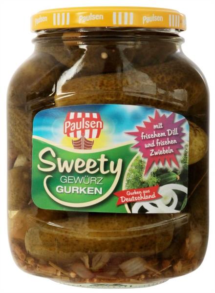 Sweety Gurken 720 ml