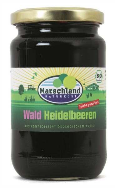 Bio-Waldheidelbeeren 370 ml