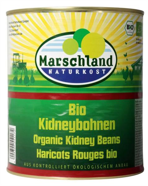 Bio-Kidneybohnen 3.100 ml