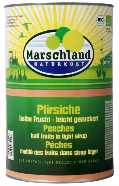 Bio-Pfirsiche, halbe 4.250 ml