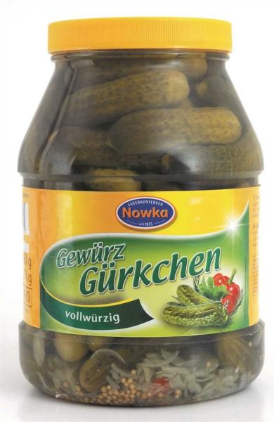 Gewürzgürkchen 2.400 ml