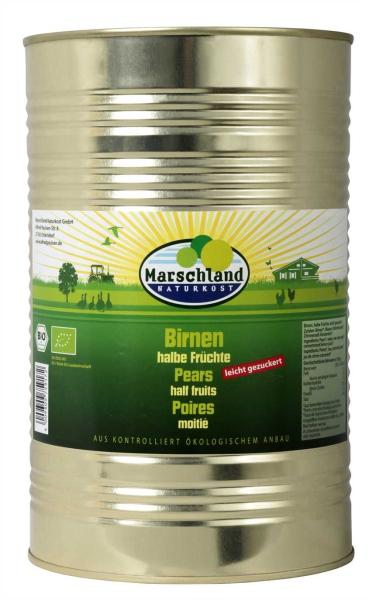 Bio-Birnen, halbe 4.250 ml
