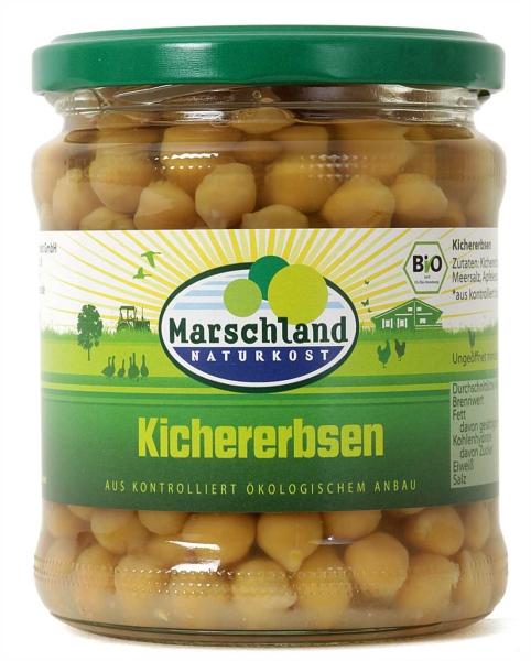 Bio-Kichererbsen 370 ml
