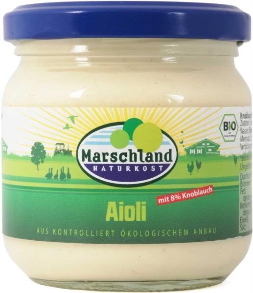 Bio-Aioli (mit 8% Knoblauch) 215 ml