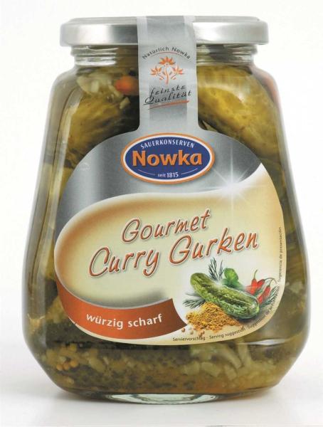 Gourmet Curry-Gurken 580 ml