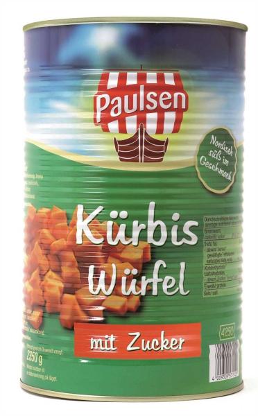 Kürbis mit Zucker 4.250 ml