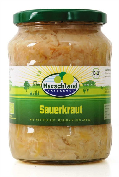 Bioland Bio-Sauerkraut 720 ml