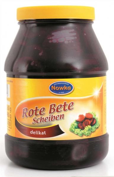 Rote Bete, Scheiben 2.400 ml