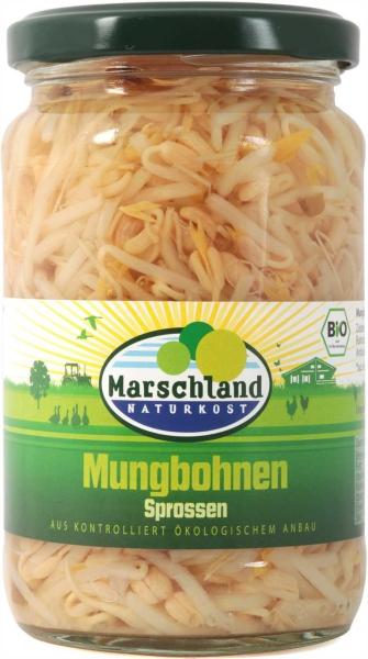 Bio-Mungbohnen Sprossen 370 ml