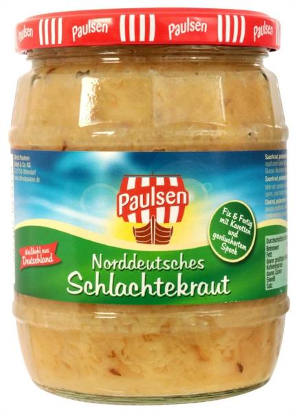 Norddeutsches Schlachtekraut 580 ml