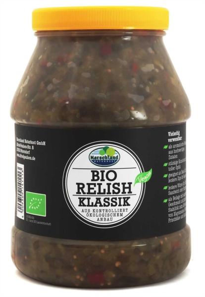 Bio Gurken-Relish Klassik 2.400 ml