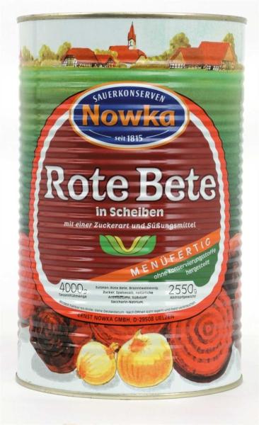 Rote Bete, Scheiben 4.250 ml
