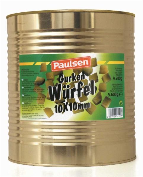 Gurken Würfel 10*10 Süßstoff 10.200 ml
