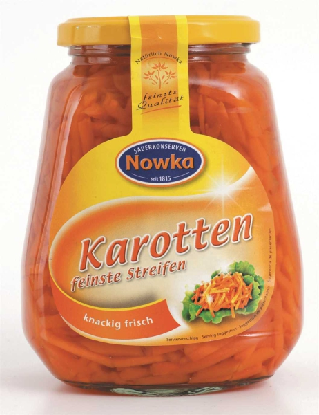 Karotten feinste Streifen 580 ml