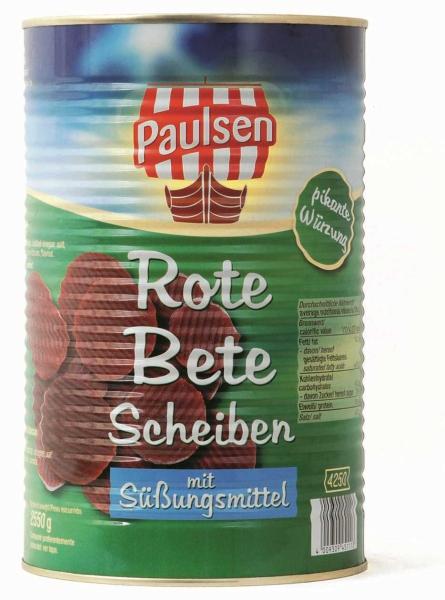 Rote Bete-Scheiben 4.250 ml
