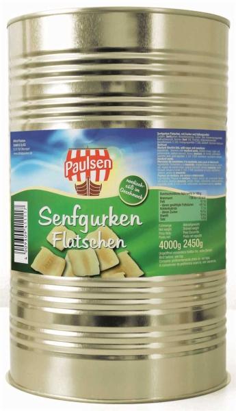 Senfgurken Flatschen 4.250 ml
